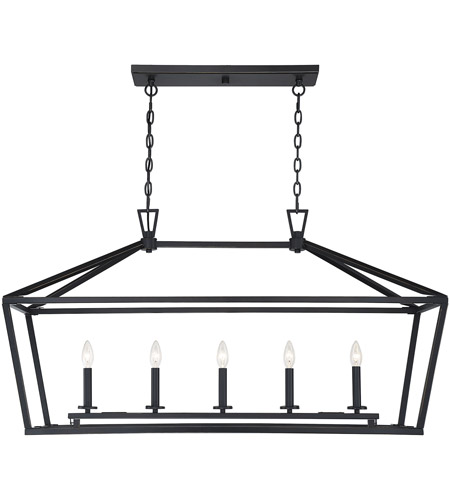 Savoy House 1-324-5-44 Townsend 5 Light 44 inch Classic Bronze Linear Chandelier Ceiling Light photo