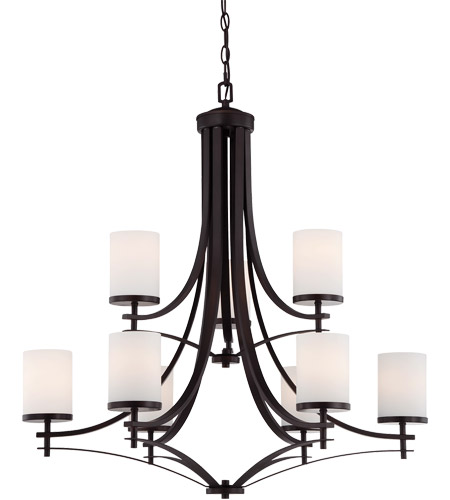 Savoy House Colton 9 Light Chandelier in English Bronze 1-331-9-13