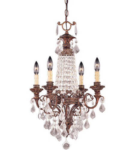 Savoy House Signature 4 Light Chandelier in New Tortoise Shell 1-3400-4-56