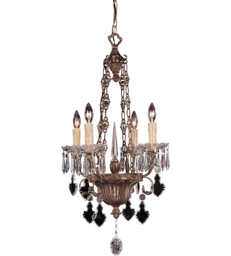 Savoy House Marie 4 Light Chandelier in Vintage Gold 1-34018-4-300 photo