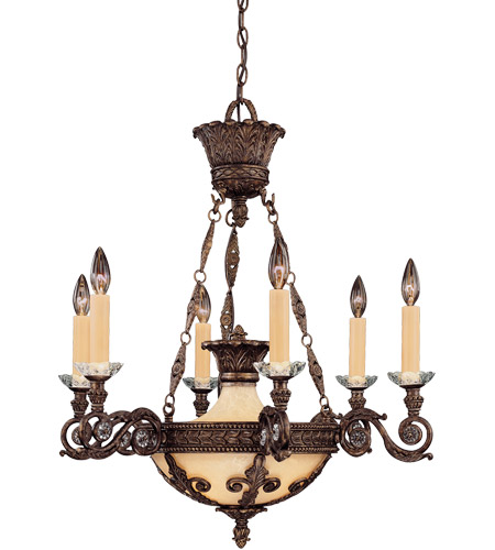 Savoy house corsica 6 light chandelier in new tortoise shell 1 3410 6 56 mozeypictures Gallery