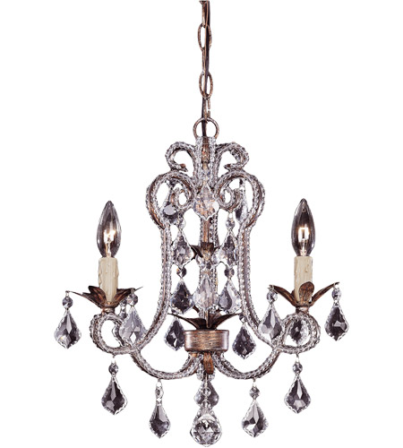 Savoy House Signature 3 Light Chandelier in Burnished Gold 1-37000-3-22 photo