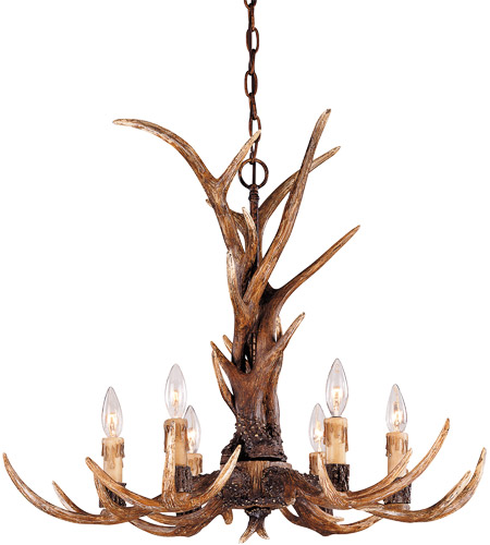 Savoy House 1-40017-6-56 Blue Ridge 6 Light 29 inch New Tortoise Shell Chandelier Ceiling Light photo