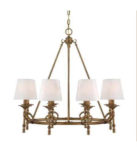 Savoy House Foxcroft 8 Light Chandelier in Aged Bronze 1-4158-8-291 photo
