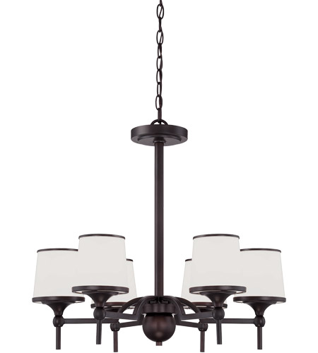 Savoy House Hagen 6 Light Chandelier in English Bronze 1-4381-6-13
