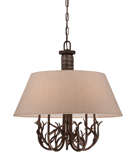 Savoy House Brambles 5 Light Chandelier in Moonlit Bark 1-4802-5-132 photo
