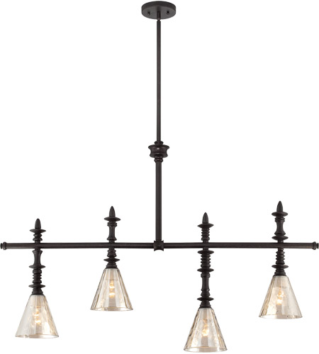 Savoy House Darian 4 Light Island Light in Oiled Bronze 1-4902-4-02