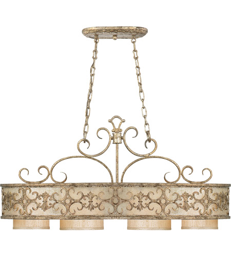 Savoy House Savonia 4 Light Chandelier in Oxidized Silver 1-509-4-128 photo
