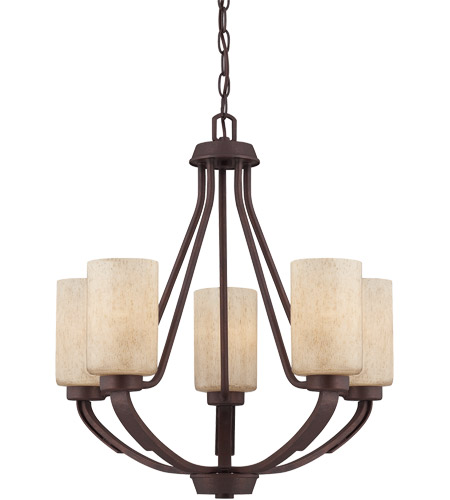 Savoy House Berkley 5 Light Chandelier in Heritage Bronze 1-5430-5-117 photo