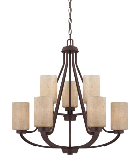 Savoy House Berkley 9 Light Chandelier in Heritage Bronze 1-5434-9-117