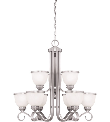 Savoy House Willoughby 9 Light Chandelier in Pewter 1-5773-9-69 photo