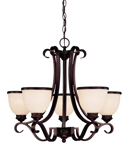 Savoy House Willoughby 5 Light Chandelier in English Bronze 1-5775-5-13 photo