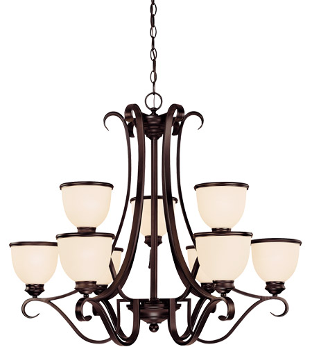 Savoy House Willoughby 9 Light Chandelier in English Bronze 1-5778-9-13