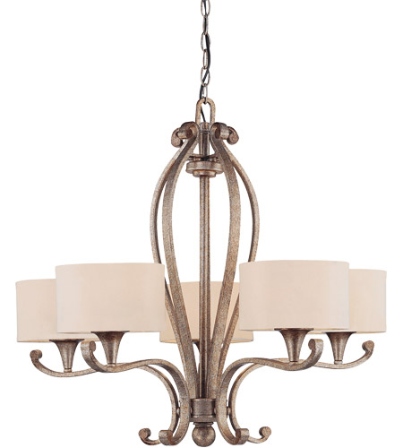 Savoy House Varna 5 Light Chandelier in Gold Dust 1-690-5-122 photo
