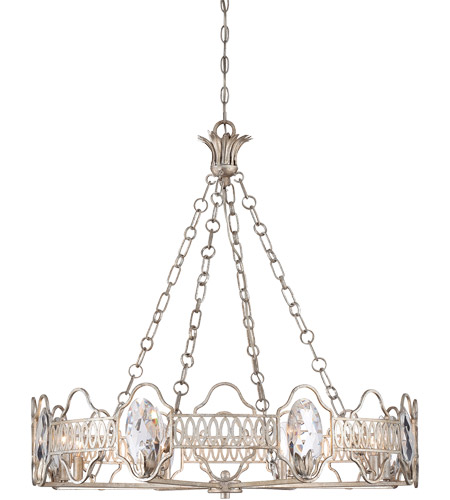 Savoy House Hyde Park 8 Light Chandelier in Argentum 1-8171-8-211 photo
