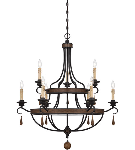 Savoy House 1-8902-9-41 Kelsey 9 Light 34 inch Durango Chandelier Ceiling Light photo