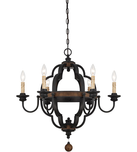 Savoy House 1-8903-6-41 Kelsey 6 Light 27 inch Durango Chandelier Ceiling Light photo