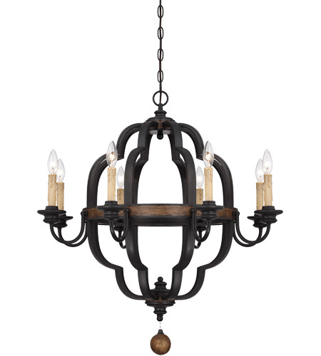 Savoy House Kelsey 8 Light Chandelier in Durango 1-8904-8-41