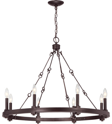 Savoy House 1-930-8-13 Adria 8 Light 32 inch English Bronze Chandelier Ceiling Light photo