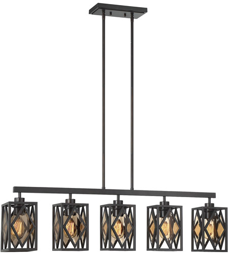 Savoy house 1 9303 5 13 putman 5 light 40 inch english bronze island chandelier ceiling light