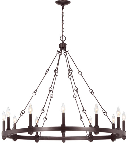 Savoy House 1-931-12-13 Adria 12 Light 39 inch English Bronze Chandelier Ceiling Light photo