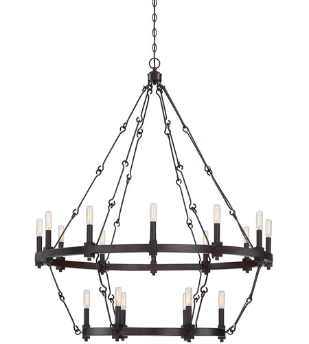 Savoy House 1-932-18-13 Adria 18 Light 39 inch English Bronze Chandelier Ceiling Light photo