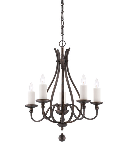 Savoy House Alsace 5 Light Chandelier in Reclaimed Wood 1-9537-5-196 photo