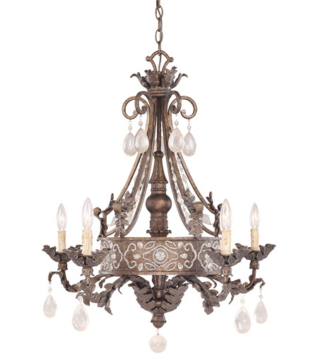 Savoy House Tracy Porter Jewel 5 Light Chandelier In New