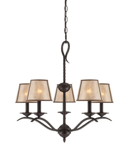 Savoy House Kennebec 5 Light Chandelier in Slate 1-9620-5-25 photo