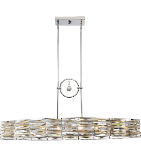 Savoy House 1-973-6-11 Lancaster 6 Light 41 inch Polished Chrome Island Light Ceiling Light photo