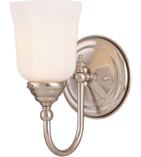 Savoy House Brunswick 1 Light Sconce in Satin Nickel 1062-1-SN photo