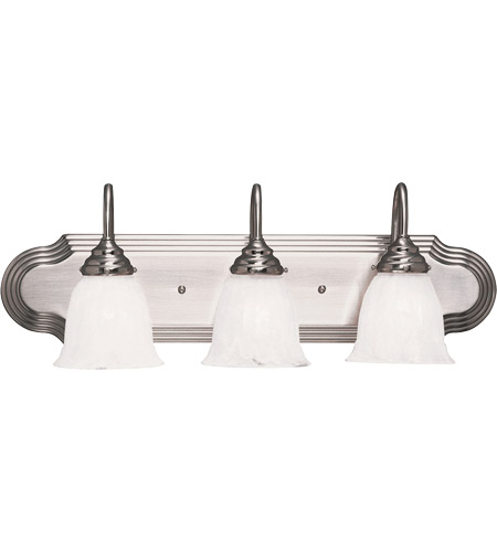 Savoy House 1079-3SN Summergrove 3 Light 24 inch Satin Nickel Bath Bar Wall Light photo