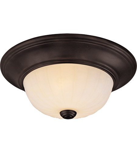 Savoy House Signature 2 Light Flush Mount in English Bronze 11264-13