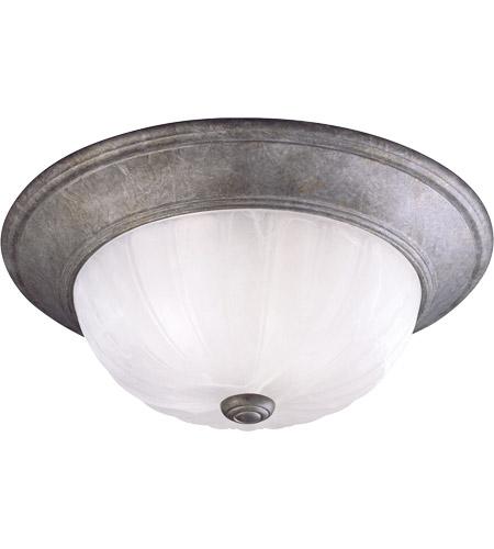 Savoy House Ceiling Lighting Flush Mount In Texas Bat Silver 11264 27