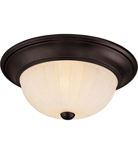 Savoy House Signature 2 Light Flush Mount in English Bronze 13264-13