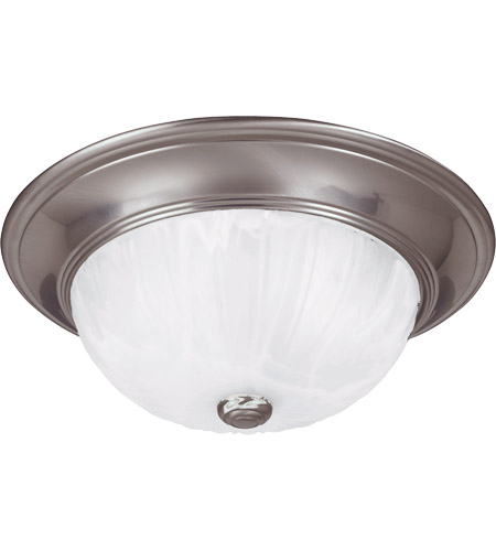 Savoy House 13264-SN Signature 2 Light 13 inch Satin Nickel Flush Mount Ceiling Light photo