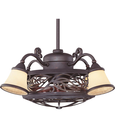 Savoy House Bay St. Louis 4 Light Outdoor Fan d Lier in Antique Copper 14-260-FD-16 photo