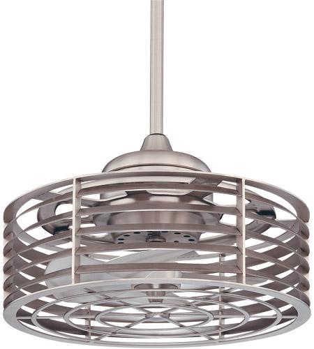 Savoy House Seaside Outdoor Fan d Lier in Satin Nickel 14-325-FD-SN