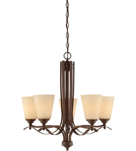 Savoy House Maremma 5 Light Chandelier in Espresso 1P-2176-5-129