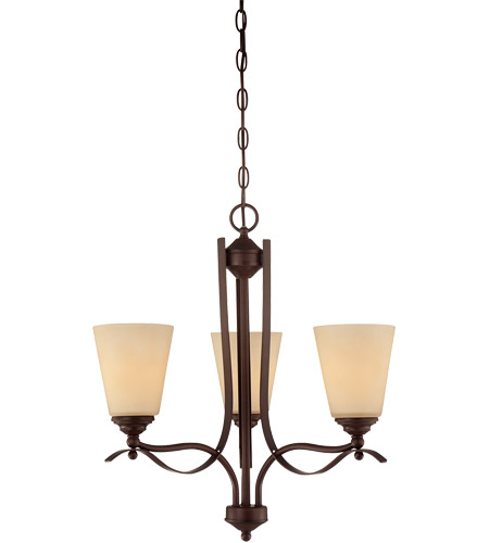 Savoy House Maremma 3 Light Chandelier in Espresso 1P-2178-3-129 photo