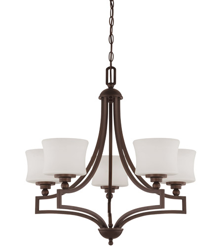 Savoy House Terrell 5 Light Chandelier in English Bronze 1P-7210-5-13 photo