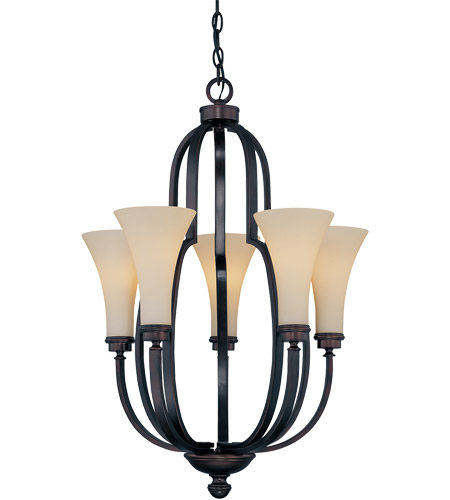 Savoy House Marcelina 5 Light Chandelier in English Bronze 1P-960-5-13 photo