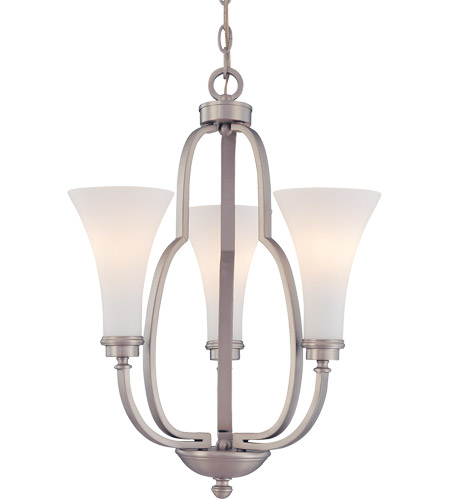 Savoy House Marcelina 3 Light Chandelier in Pewter 1P-967-3-69 photo