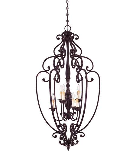 Savoy House 3-054-6-59 Bedford 6 Light 26 inch Distressed Bronze Open Foyer Ceiling Light photo