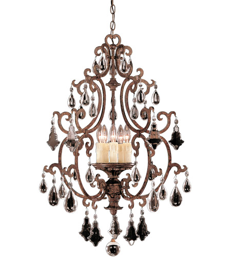 Savoy House Florence 5 Light Foyer Pendant in New Tortoise Shell 3-1406-5-56 photo