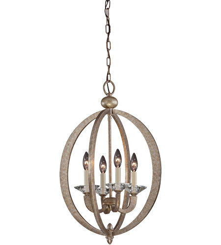 Savoy House 3-1552-4-122 Forum 4 Light 17 inch Gold Dust Foyer Lantern Ceiling Light photo