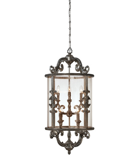 Savoy House Athena 8 Light Foyer in Silver Lace 3-2502-8-176