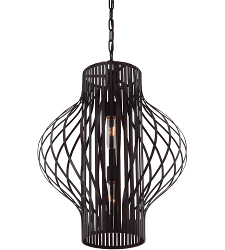 Savoy House Capra 2 Light Pendant in English Bronze 3-312-2-13