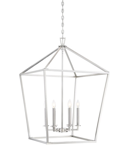 Savoy House 3-322-6-SN Townsend 6 Light 24 inch Satin Nickel Foyer Light Ceiling Light photo