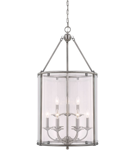 Savoy House Foxcroft 9 Light Foyer Pendant in Brushed Pewter 3-4152-9-187 photo